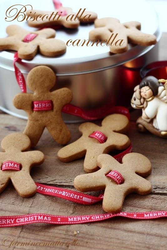 Decorazioni Natalizie Con La Cannella.Biscotti Alla Cannella Per Le Decorazioni Di Natale